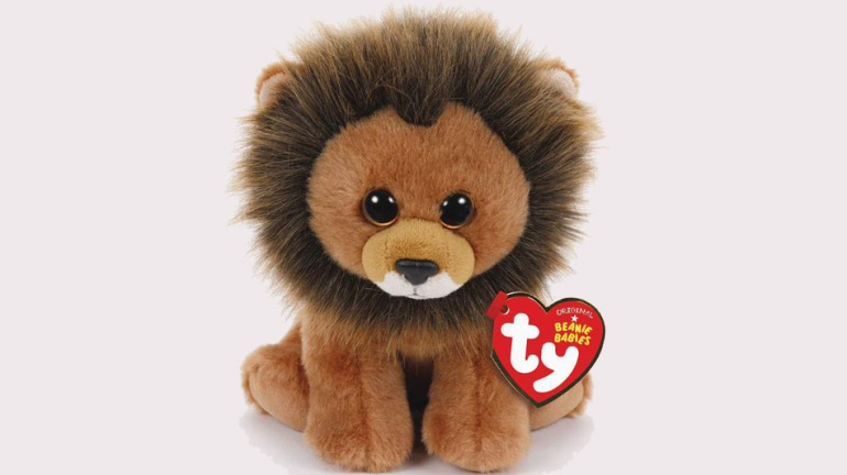 """""""Cecil the Lion"""" Beanie Baby (Photo courtesy of TY, Inc.)"""