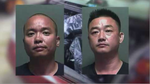 Investigators think Ling Jiang and Fei Qi Zhang were part of a larger, organized counterfeit gang.