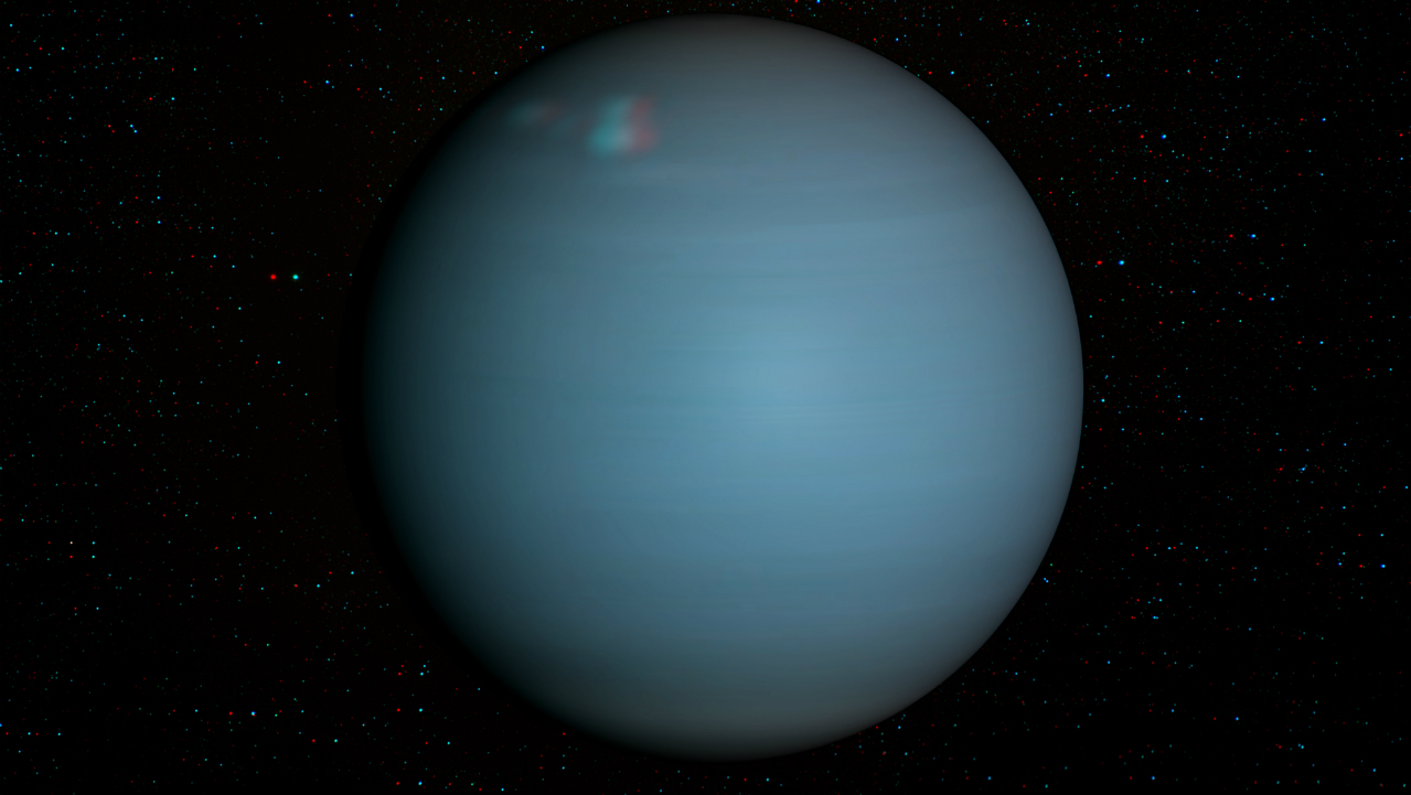 Uranus will be visible to the naked eye tonight across
