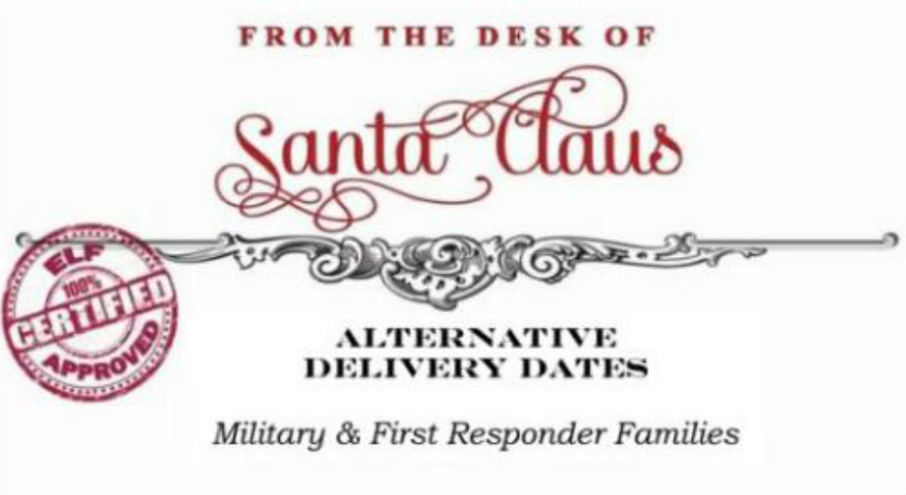 Alternative Delivery Letter From Santa Is Perfect For Parents Who Work On Christmas Wttv Cbs4indy
