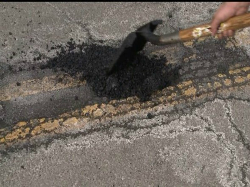 INDOT, ISP recommend 45 mph speed limit on I-69 in Madison County due to potholes