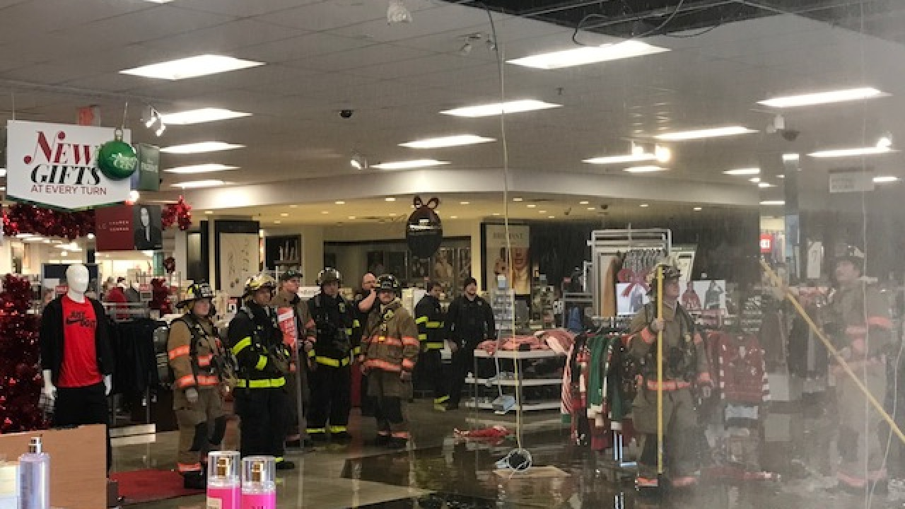 Columbus Kohl's Flooded After Faulty Sprinker Goes Off