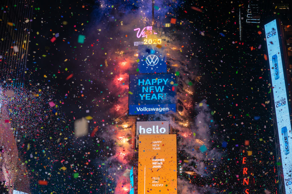 Scaled-down New Year's Eve in Times Square will include virtual elements for 2021 countdown ...