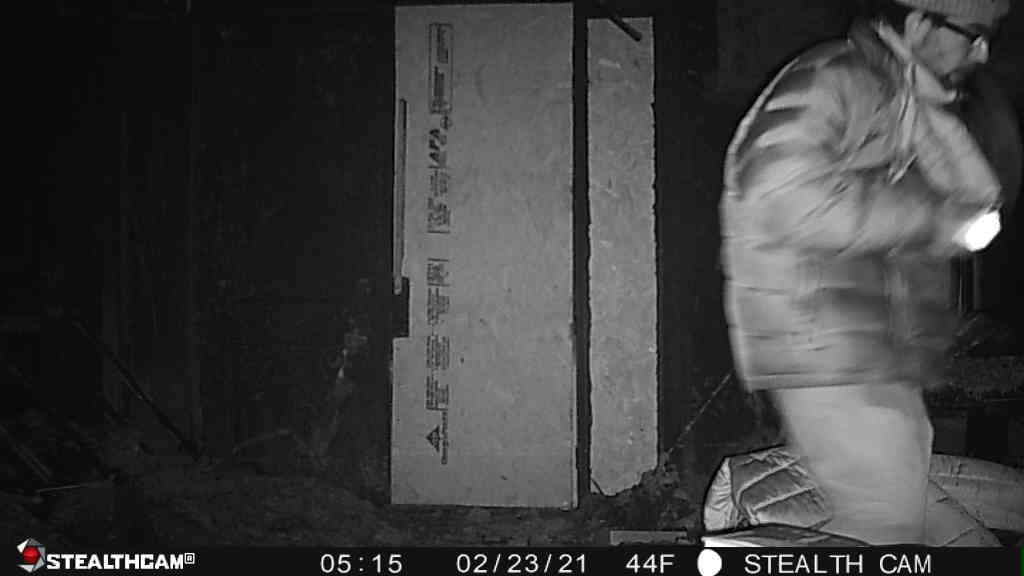 Picture of person who broke into home at 1231 E. 91st Street on Tuesday.