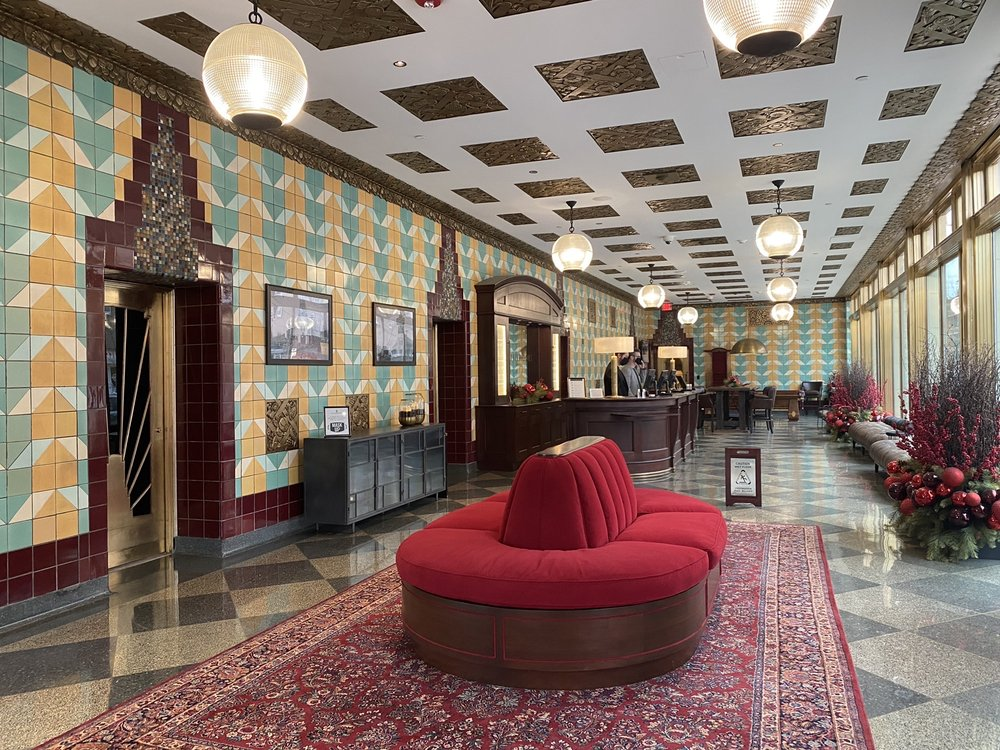 Bottleworks Hotel Combines Stunning Art Deco Design With Modern Luxury For One Of A Kind Boutique Hotel Experience Perfect Valentine S Day Staycation Wttv Cbs4indy