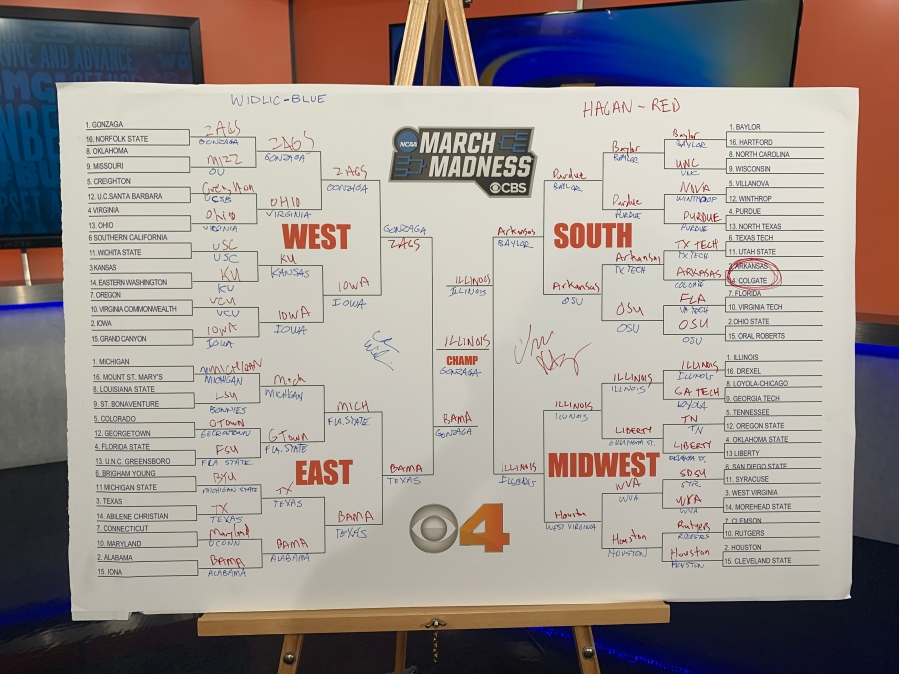 2021 March Madness in Indy bracket picks