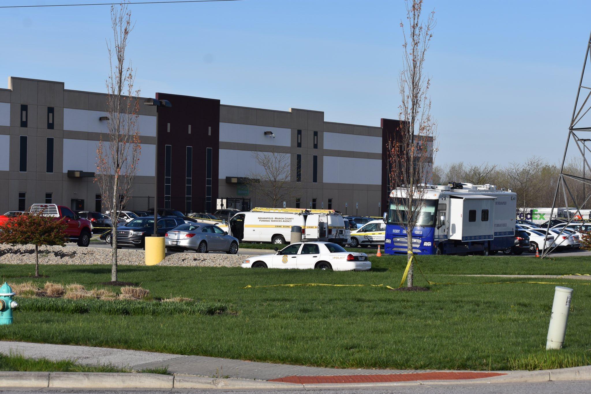 Indianapolis FedEx shooting gunman