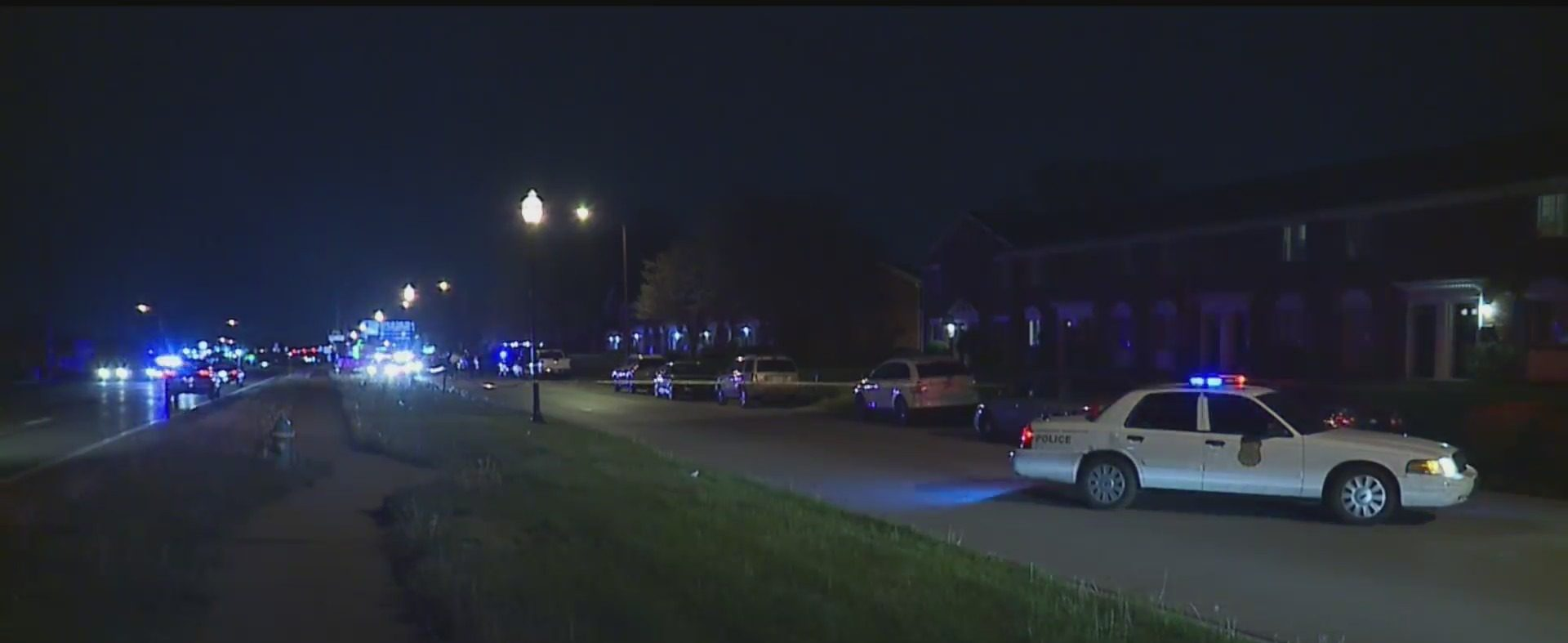 Indianapolis man shot while taking out the trash
