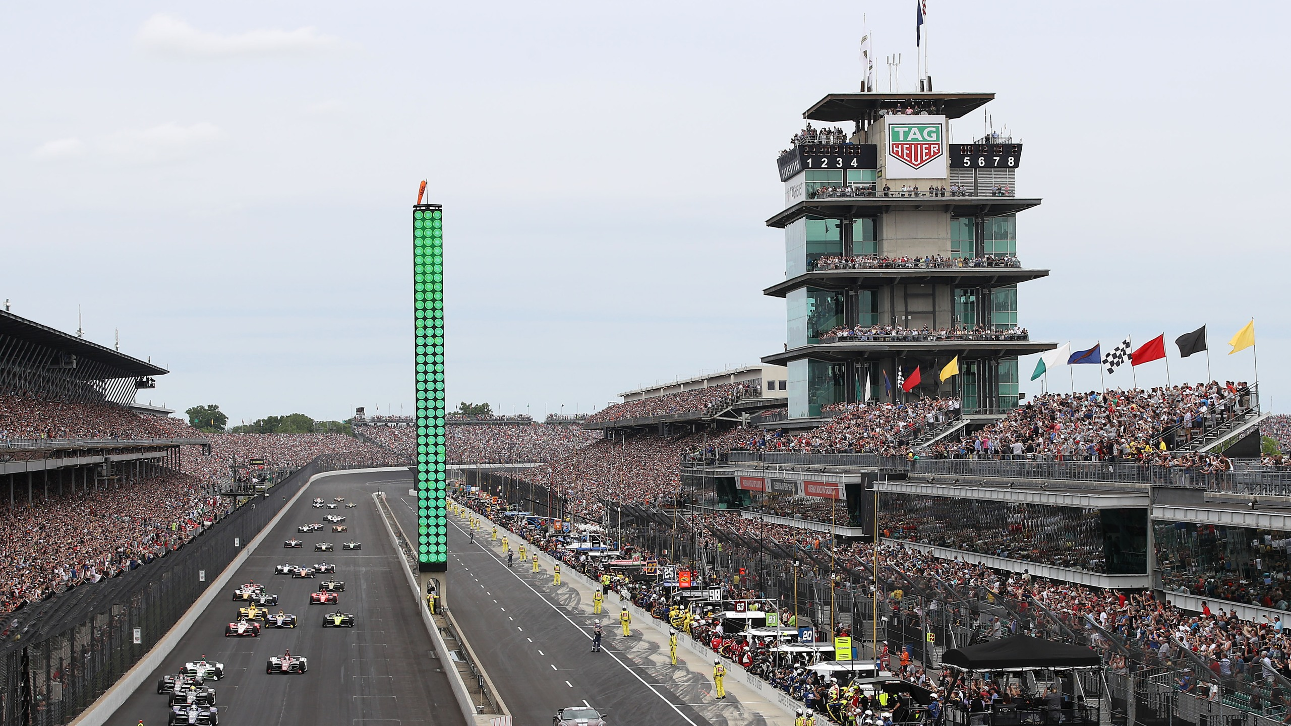 Indianapolis Motor Speedway for the Indy 500