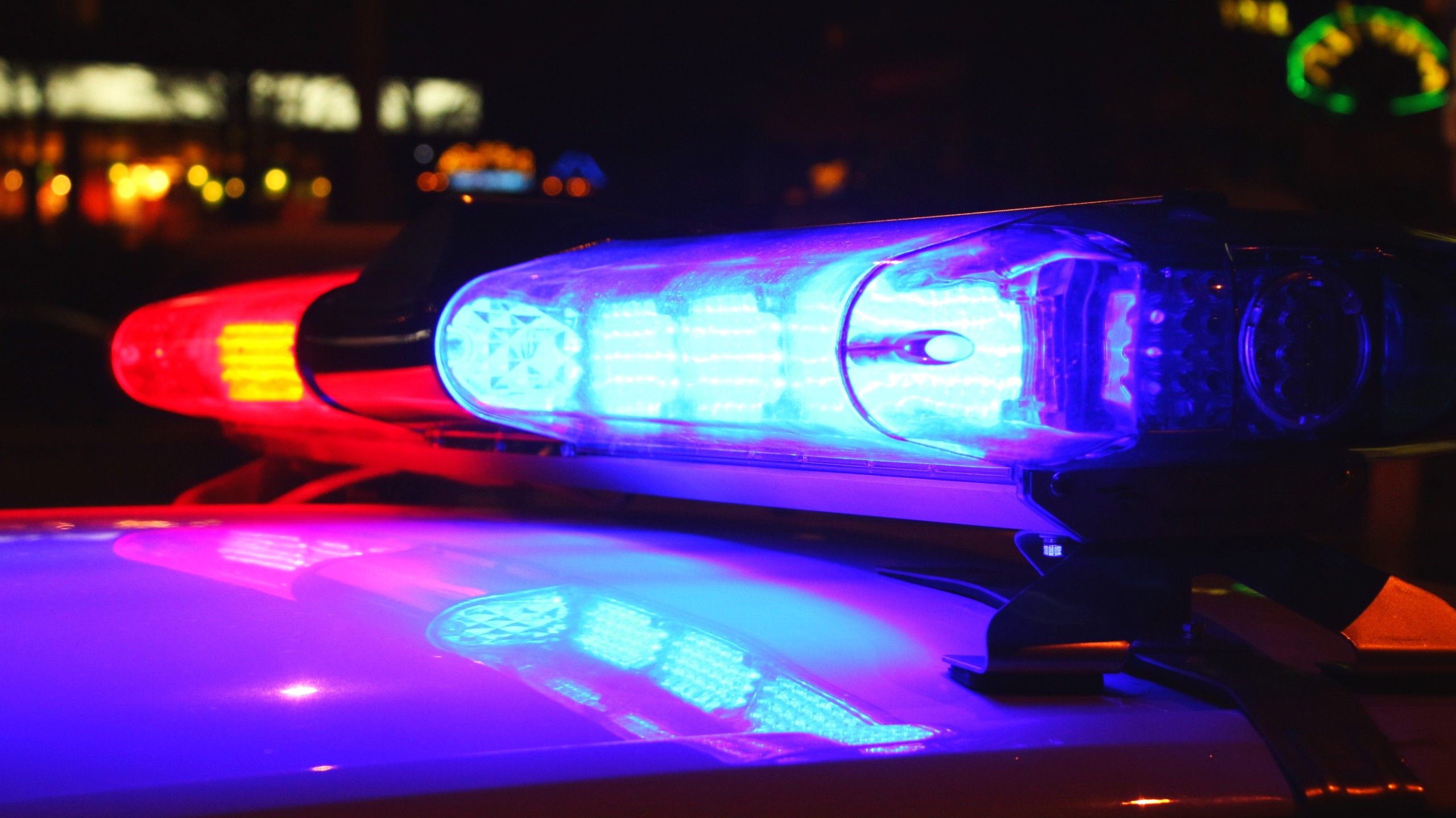Generic police light image