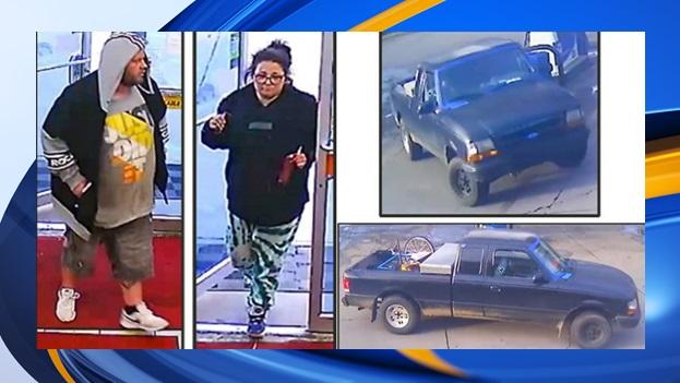Indianapolis Marathon gas station carjacking suspects 3723 Southeastern Avenue