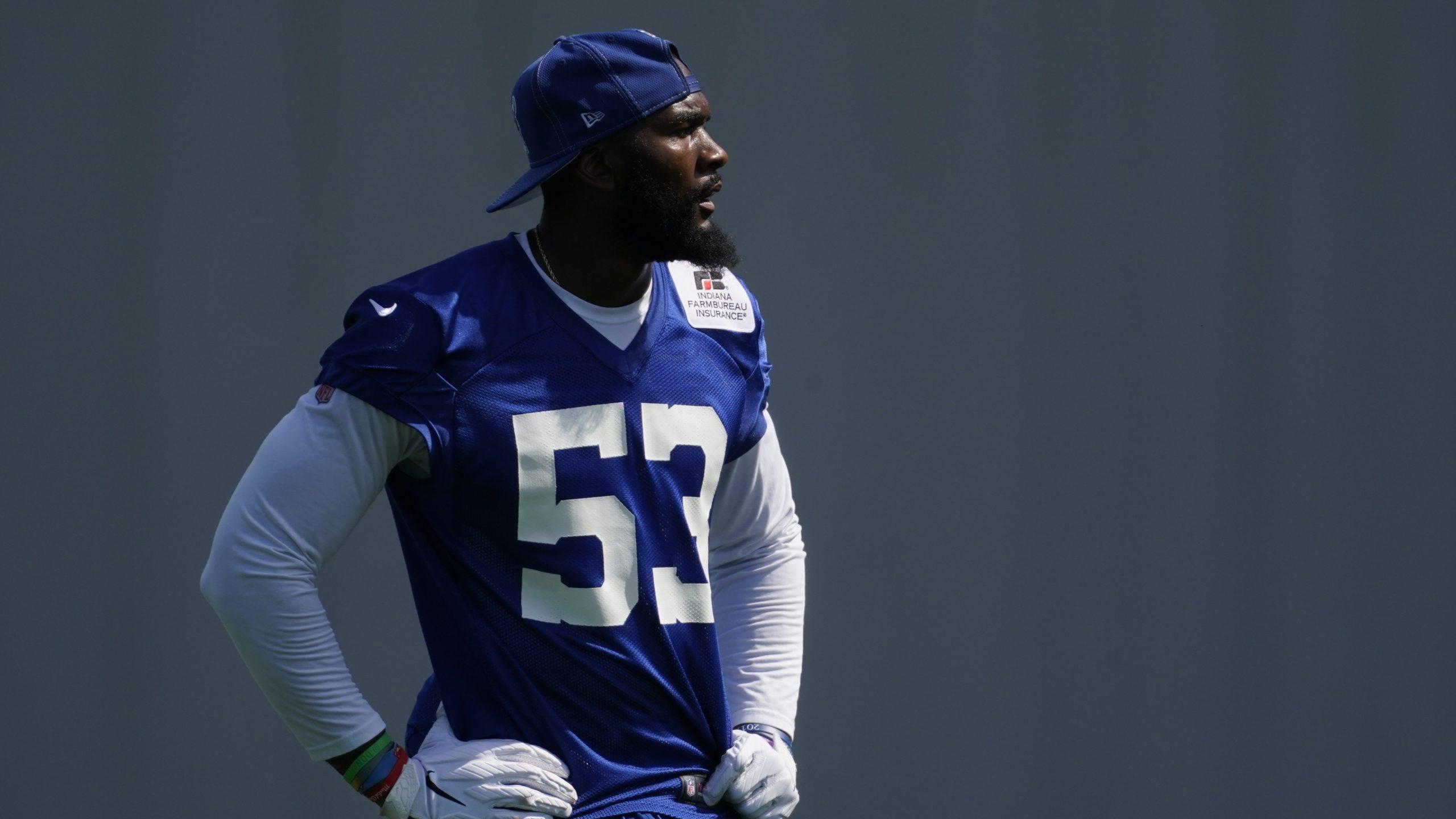 Indianapolis Colts linebacker Darius Leonard