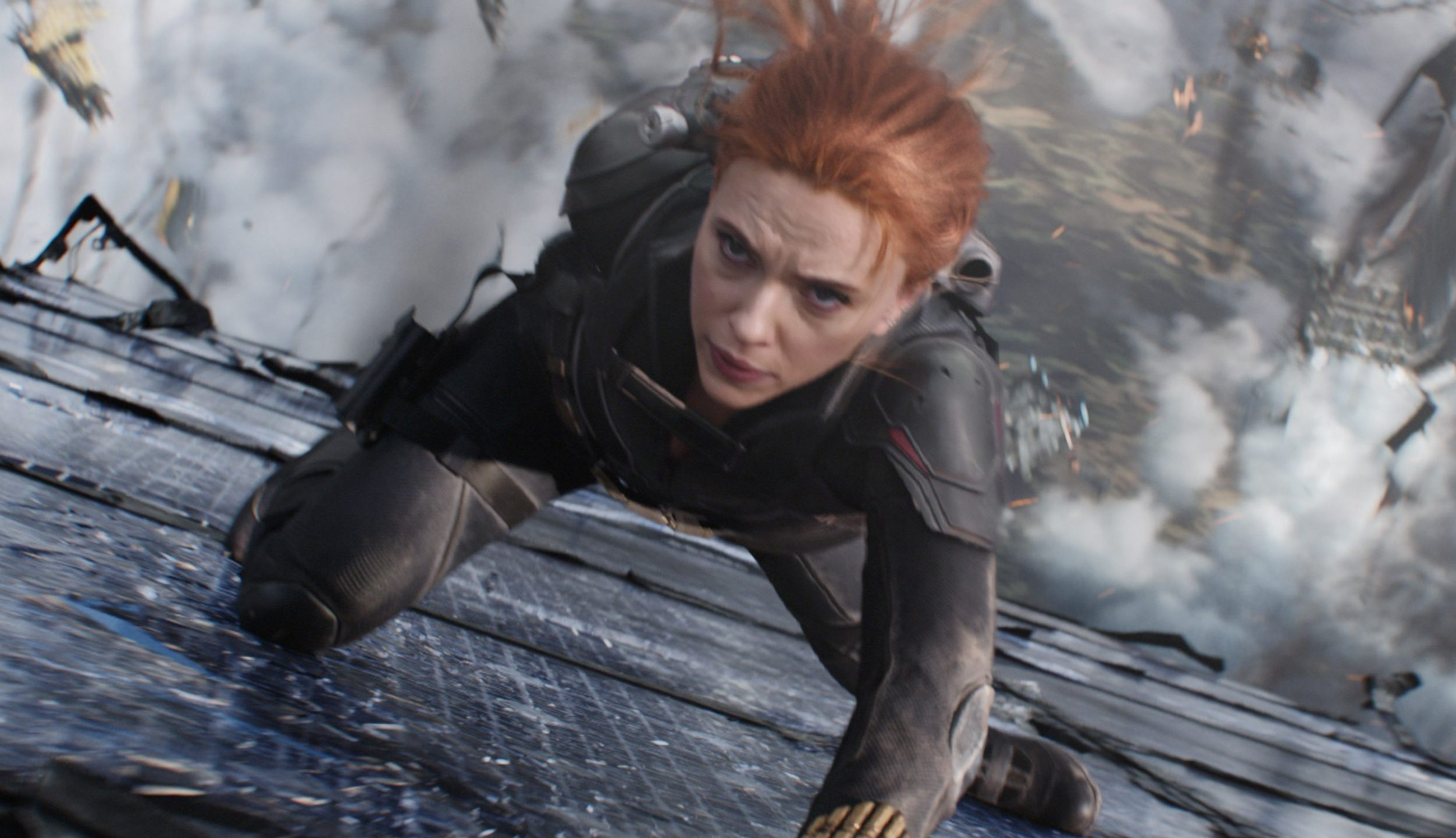 'Black Widow' opens with pandemic box office record