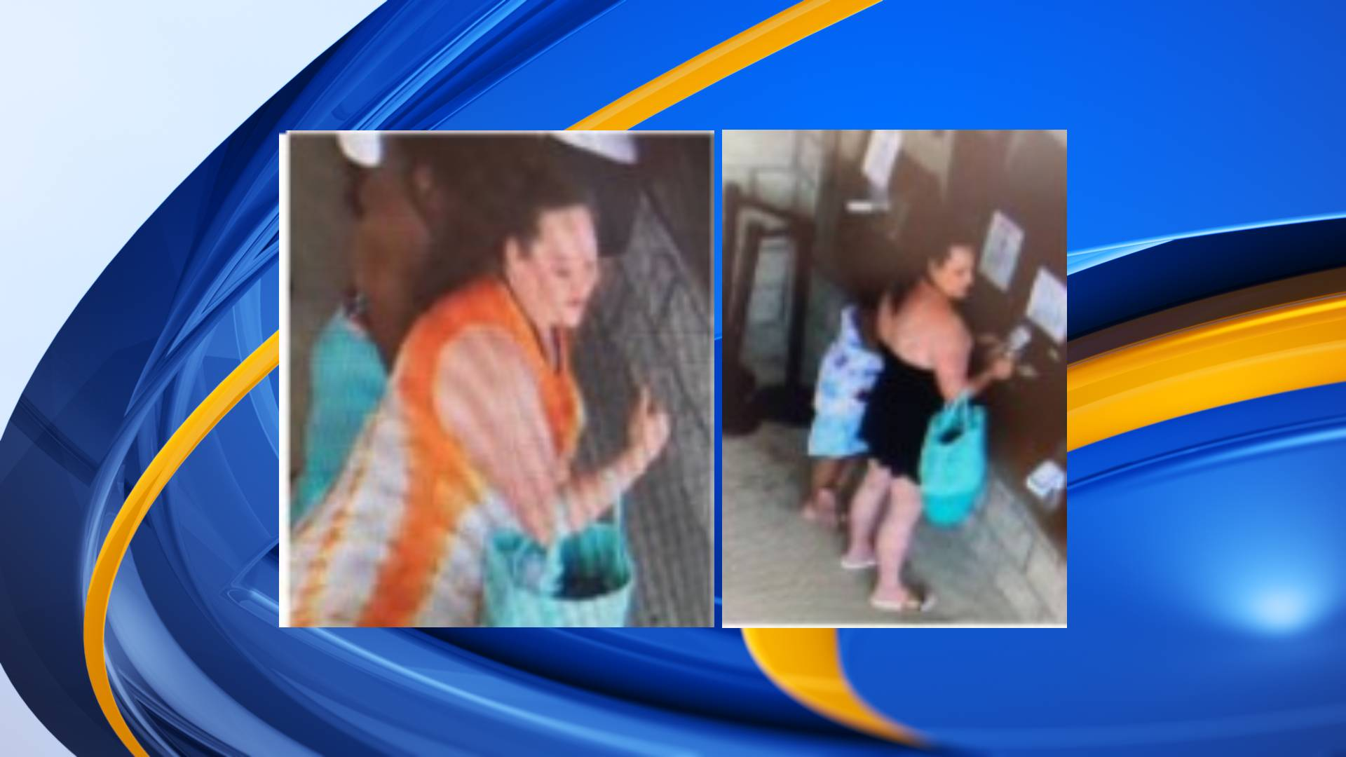 Woman sought in connection to theft at Greenwood aquatic park
