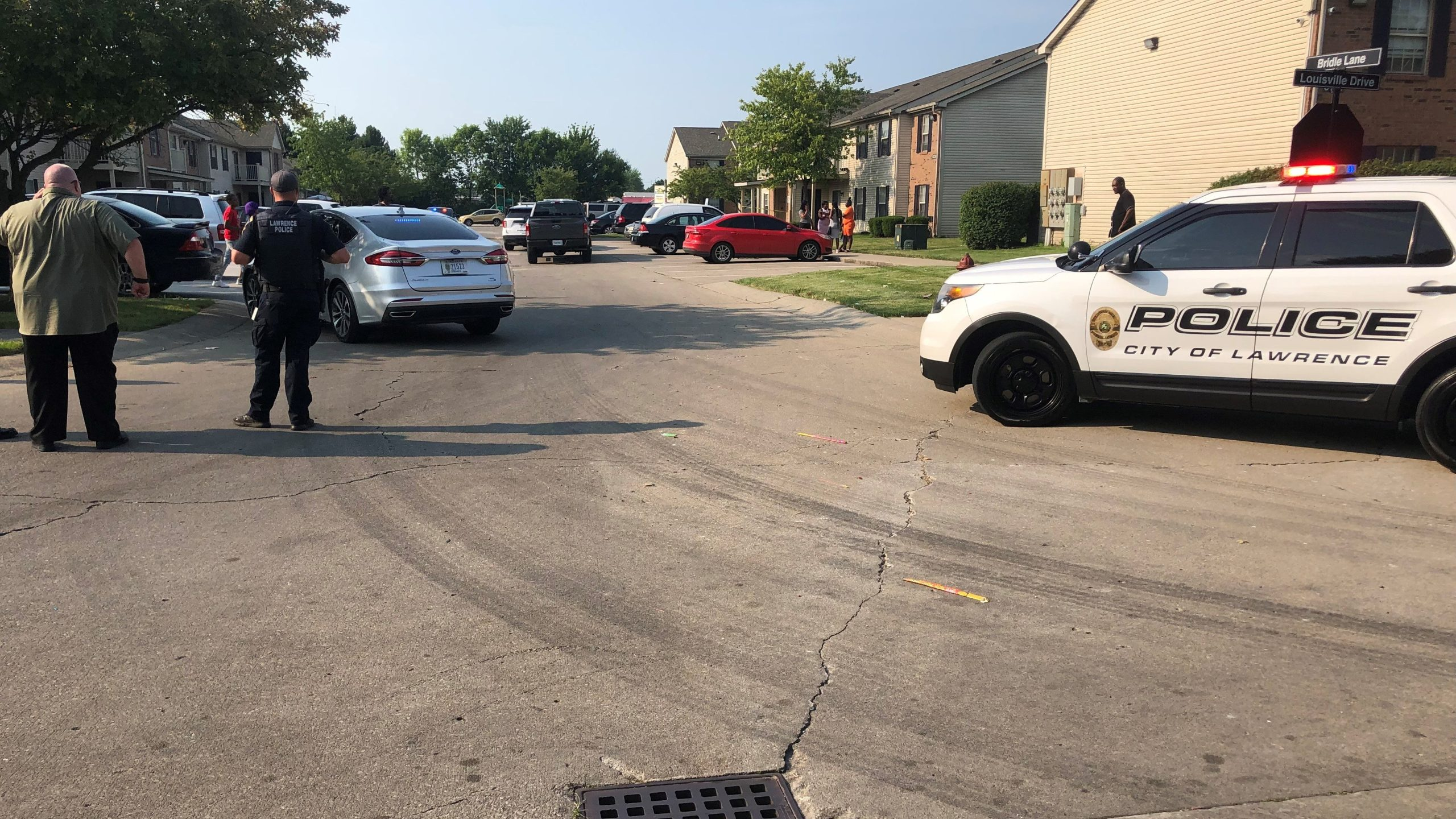 Person in critical condition after shooting in Lawrence