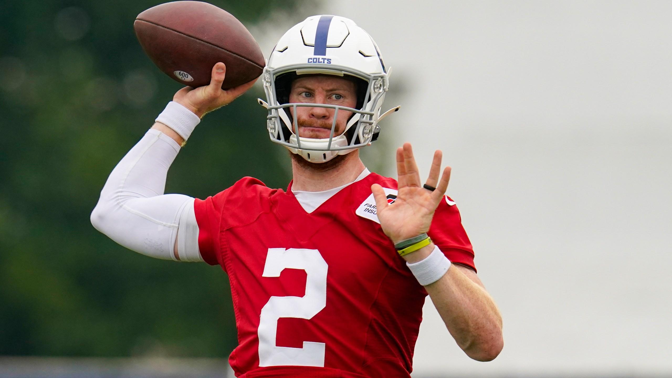 Colts QB Carson Wentz