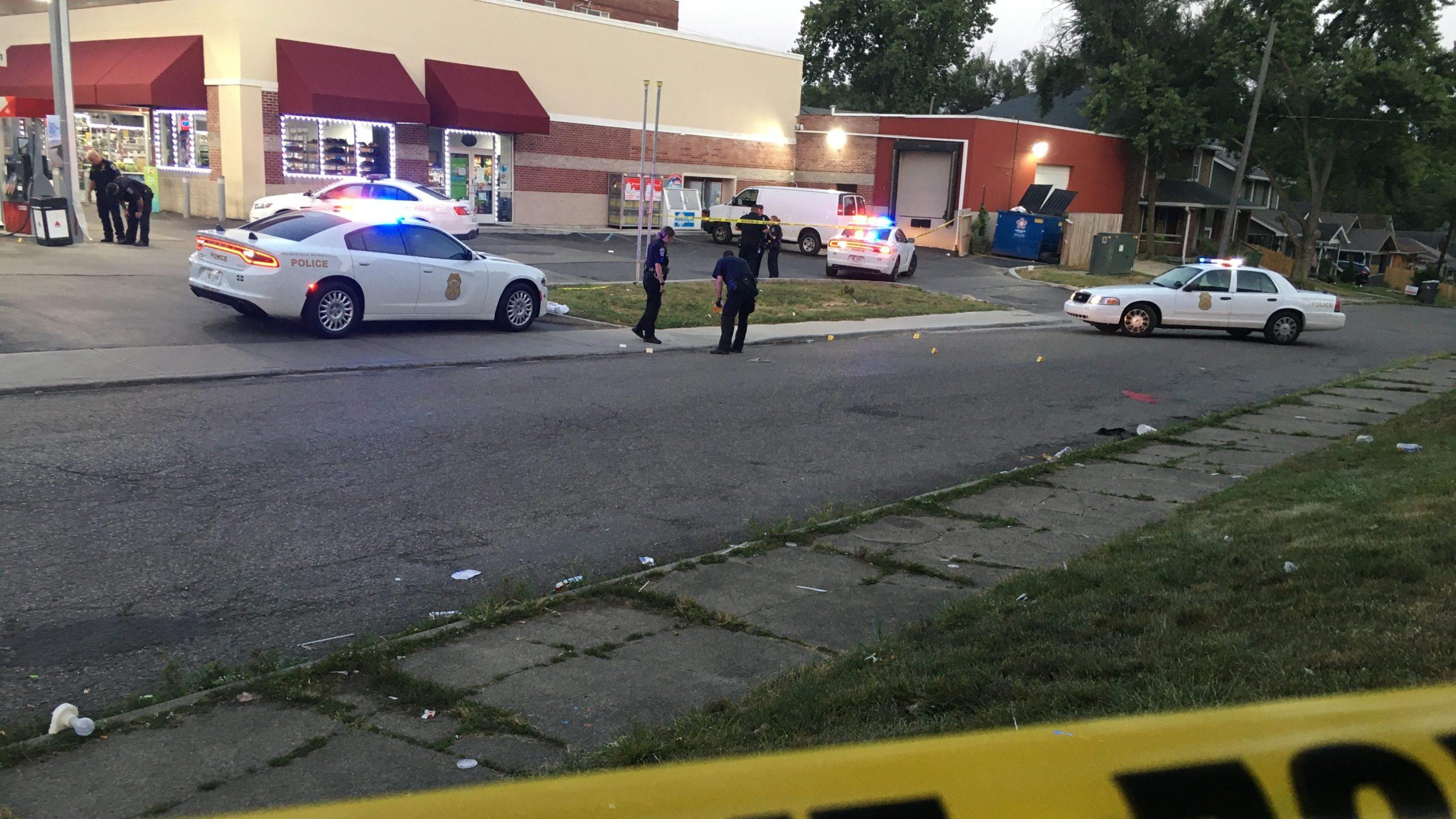 2 shot on Indy's east side