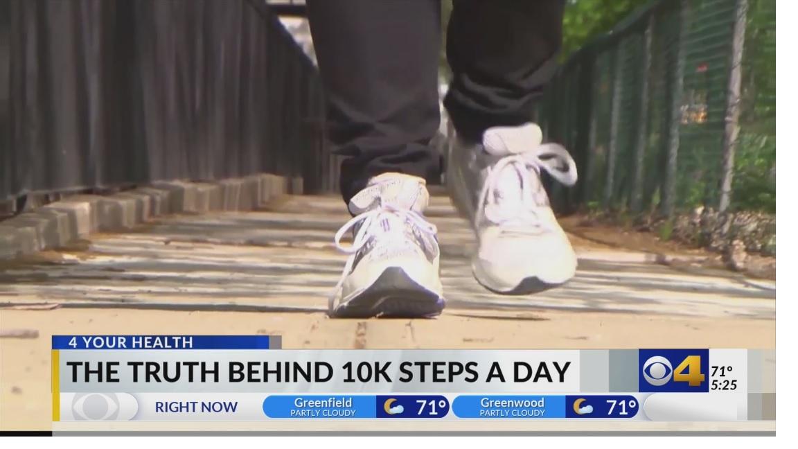 Do I really need 10,000 steps?