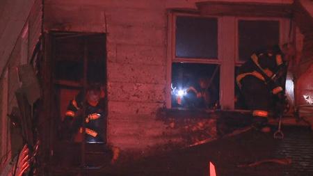 Naomi Street house fire