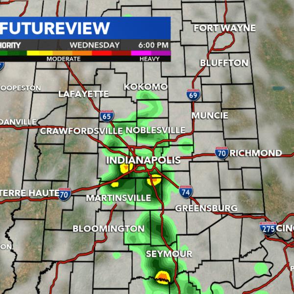 Indiana radar storms