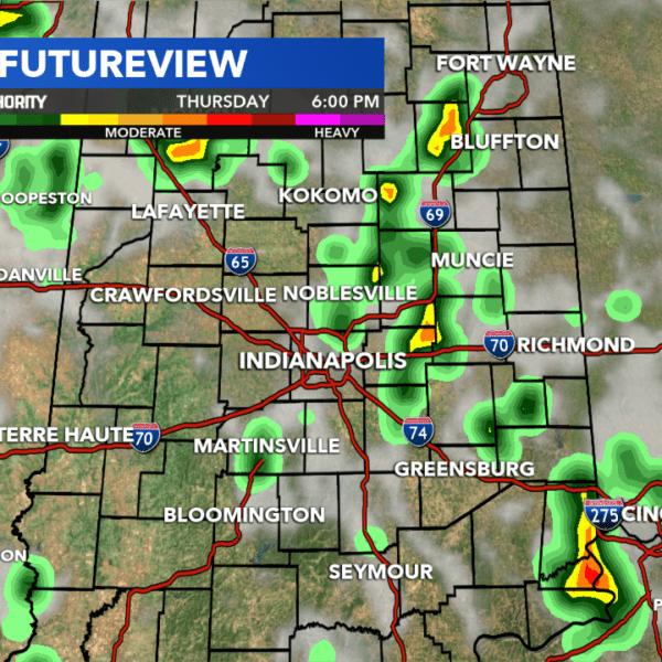 Indiana weather radar rainy day