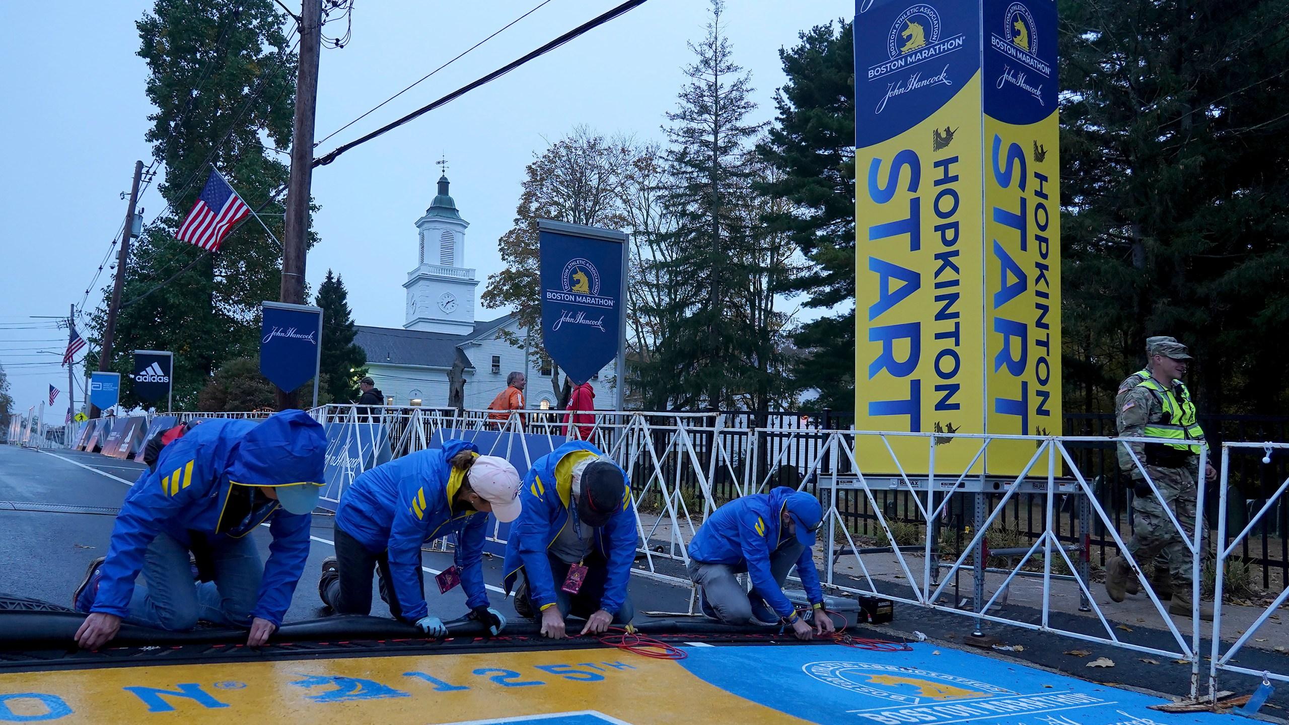Boston Marathon returns