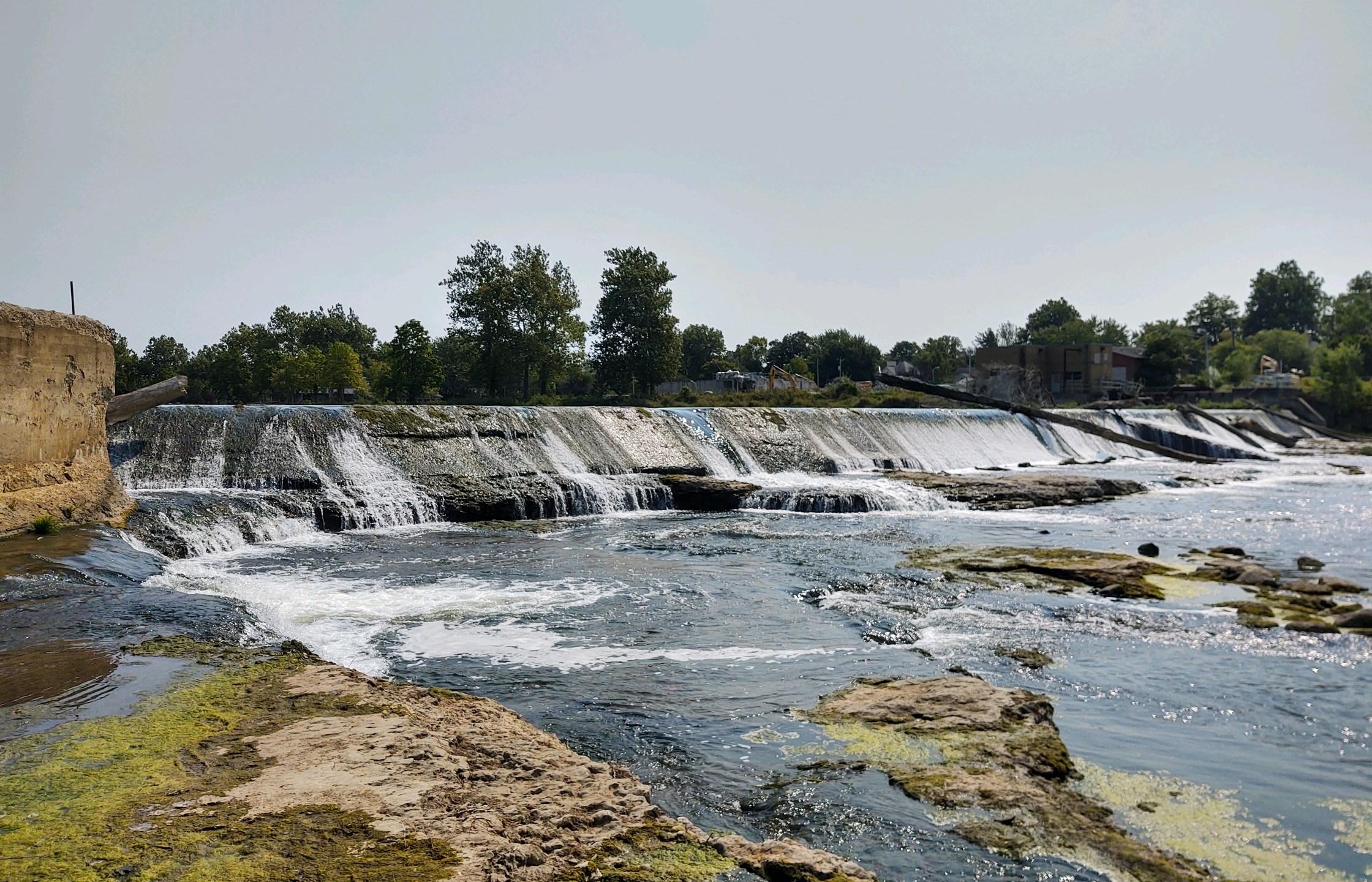 Logansport Eel River Dams removal