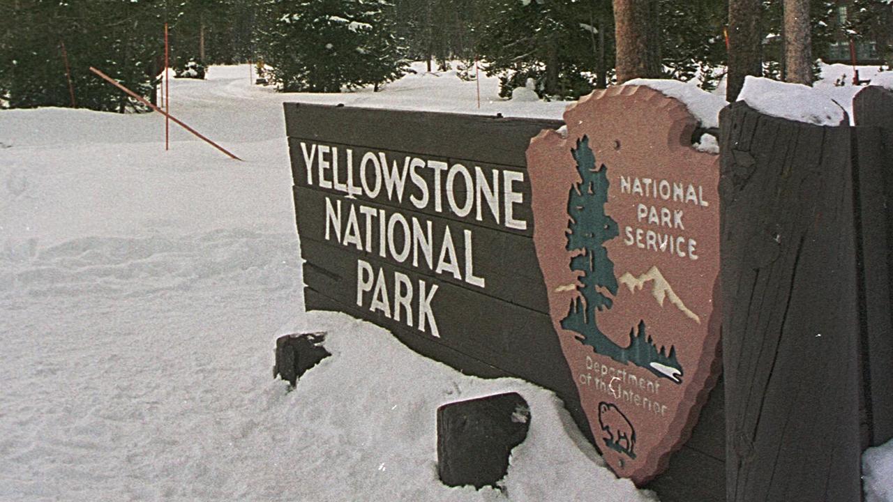 Yellowstone thermal burns