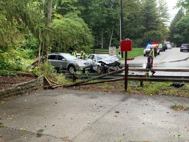 Carmel crash leaves 1 dead and 3 hospitalized